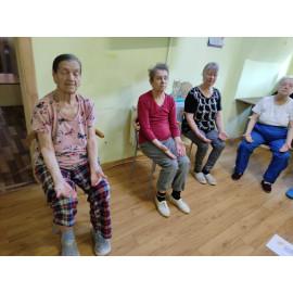 ЛФК в доме престарелых